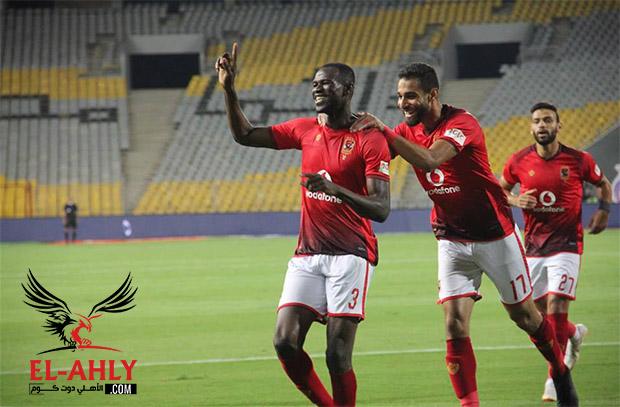 بعد 4 مباريات فقط.. كوليبالي نجم الأهلي للمرة الثانية في مباراة المصري