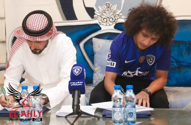 رسميا .. الهلال السعودي يعلن صفقة عموري