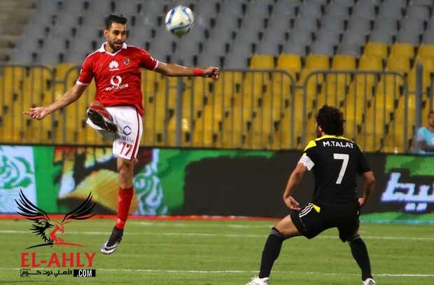 معاناة عمرو السولية قد تستمر حتى مباراة الترجي بدوري الأبطال