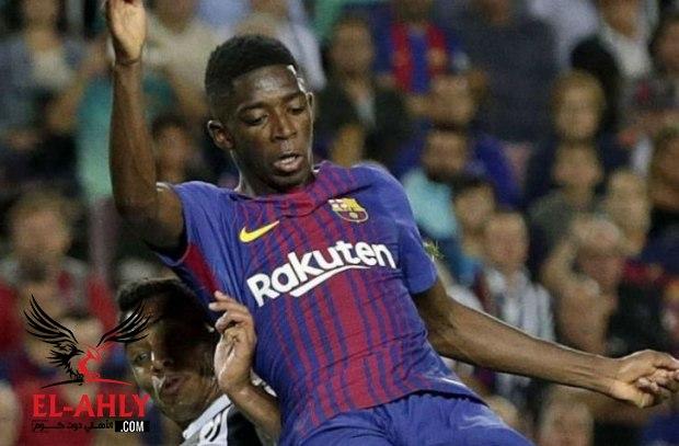 برشلونة رفضت عرض أرسنال للتخلي عن ديمبيلي مقابل 100 مليون