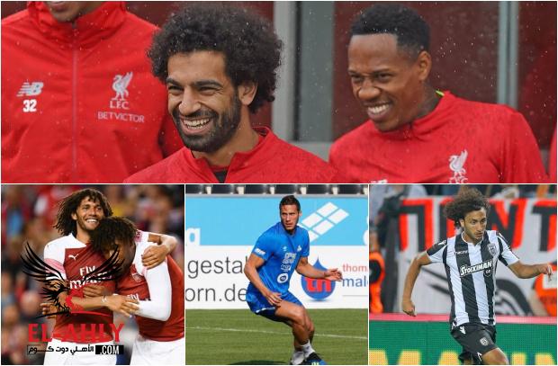 المحترفون في أسبوع: بداية قوية للمصريين في إنجلترا ووردة يسعى للتأهل في دوري الابطال