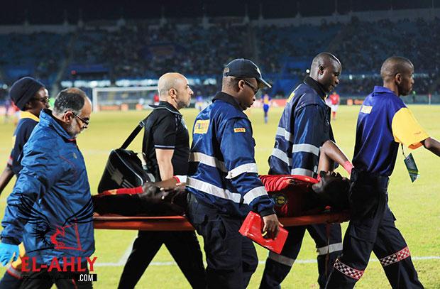 أجايي يوضح حالته بعد الإصابة وموقف كوليبالي وباقي اللاعبين