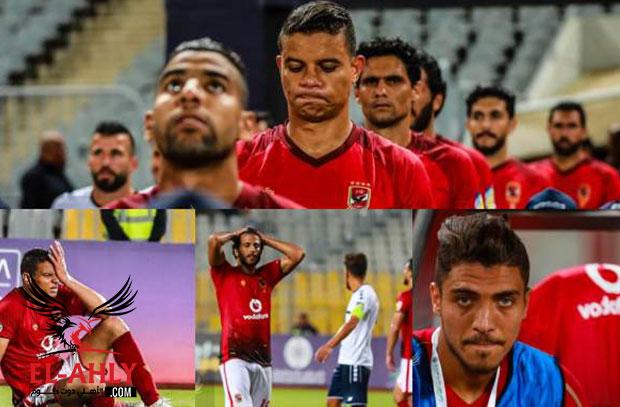 حزن شريف وحسرة مروان في أولى مباريات الأهلي بالبطولة العربية