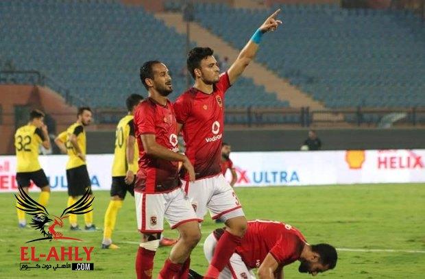 صلاح محسن: الجميع كان لديه الثقة في الإنتصار وهذا سبب اشارتي بعد الهدف