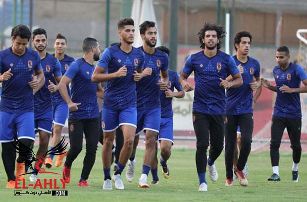 12 لاعب يشارك في مران الغائبين عن مباراة كمبالا وباسم وربيعة يواصلان التأهيل