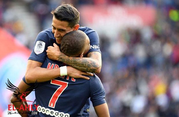 دي ماريا يخدع الجميع ويسجل هدفًا من ركلة ركنية في الدوري الفرنسي