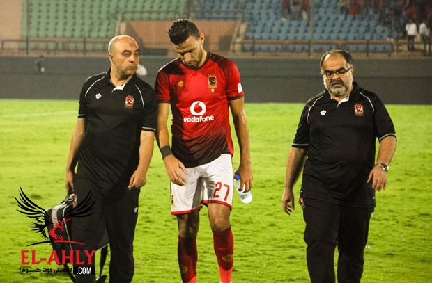 هل تعرض ميدو جابر للإصابة في مباراة الأهلي والإنتاج؟