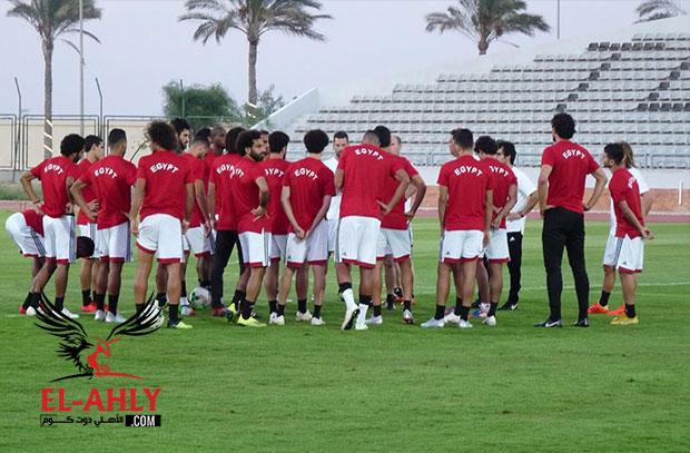 مكتمل الصفوف.. المنتخب الوطني ينهي تدريبه الثاني استعداداً لمواجهة النيجر