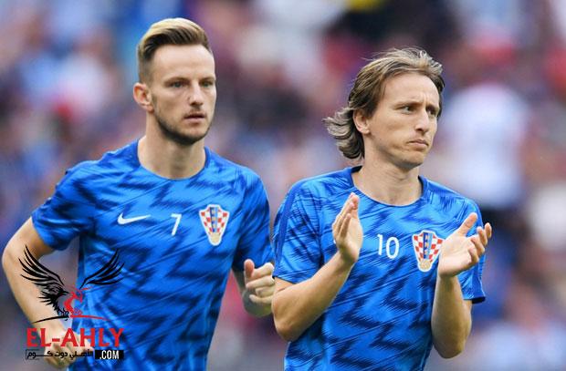 راكيتيتش: كل الكرواتيين فخورين بمودريتش وأتمنى أن يحصل على أفضل لاعب بالعالم