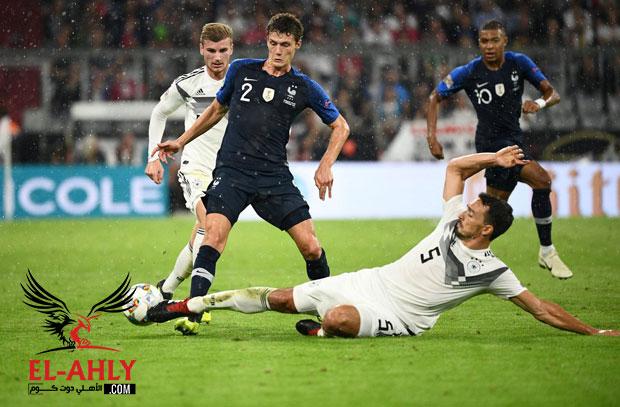 دوري الأمم الأوروبية .. فرنسا تسير على خطى ابطال كأس العالم وتتعادل أمام ألمانيا