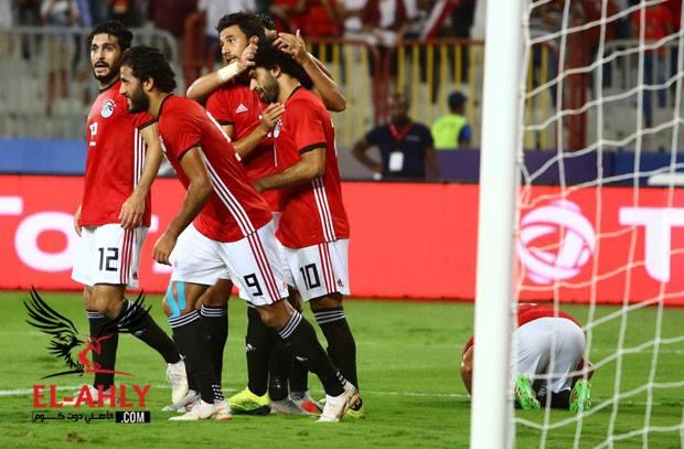 مصر تحقق أول فوز في 2018 وتكتسح النيجر بسداسية في اول مباراة لأجيري