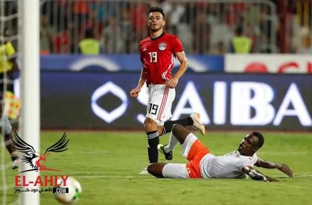 هدفًا ومهارة عالية في ملخص ما قدمه صلاح محسن في الظهور الأول مع منتخب مصر