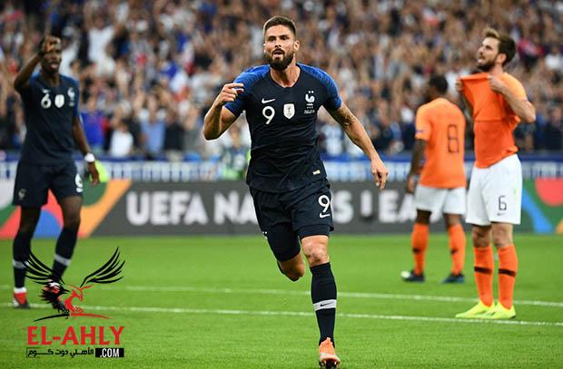 فرنسا تحتفل بكأس العالم بفوز مهم على هولندا