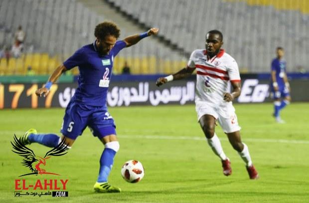 جدول ترتيب الدوري المصري بعد تعادل الزمالك وسموحة وتأجيل مباراتين للأهلي