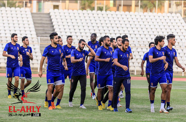 الأهلي يخوض مران خفيف استعداداً لمواجهة فريق النجمة اللبناني