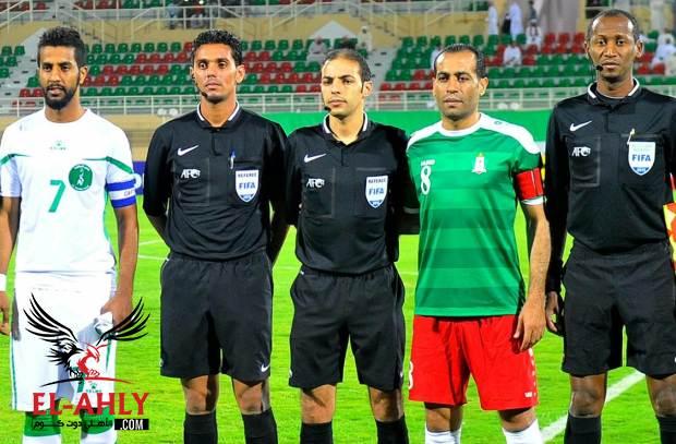 طاقم تحكيم سعودي لقيادة مباراة الأهلي والنجمة اللبناني بالبطولة العربية