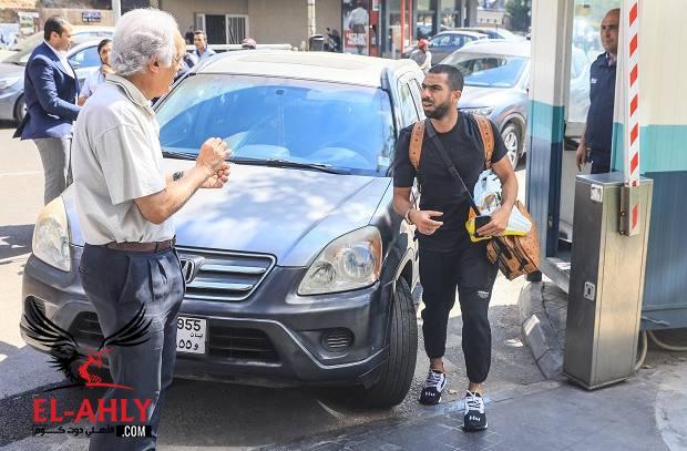رسالة بيروت: أحمد فتحي ينضم للفريق وتخصيص مدرج كامل لجمهور الأهلي