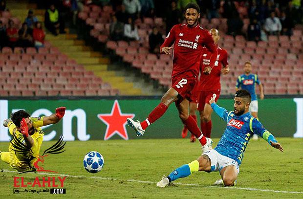 نابولي يصعق ليفربول بهدف قاتل ويخطف الصدارة وباريس يضرب بالستة