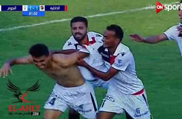 النجوم يحقق الانتصار الثاني في الدوري أمام الداخلية في مباراة مثيرة
