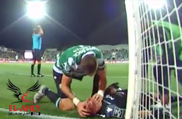لاعب ليفربول السابق ينقذ حارس مرمى سبورتنج من الموت