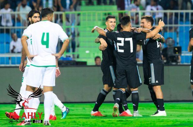 الأرجنتين تهزم العراق برباعية في بطولة السعودية الودية