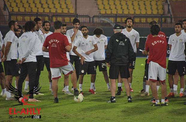 كوكا وطارق حامد ضمن 12 بديلًا لمنتخب مصر أمام إي سواتيني