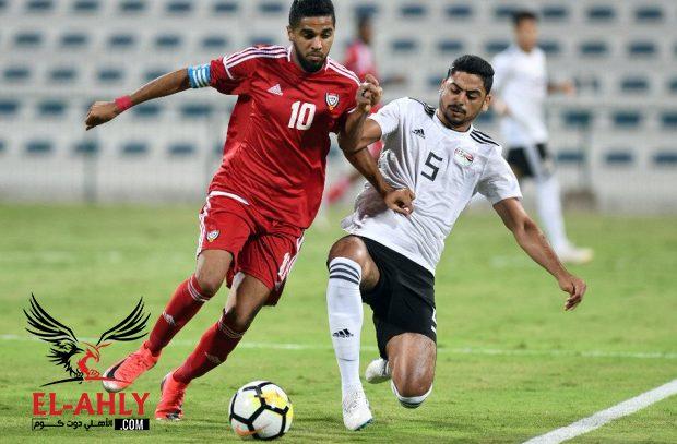 المنتخب الأوليمبي يتعادل سلبيا مع نظيره الإماراتي