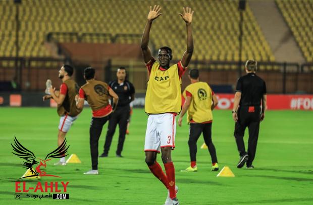 عبر El-Ahly.com.. ساليف كوليبالي يطمئن جماهير النادي الأهلي