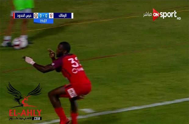 بعد استفزازات النقاز ومحمود علاء.. موسيس يعاقب الزمالك بهدف صاروخي