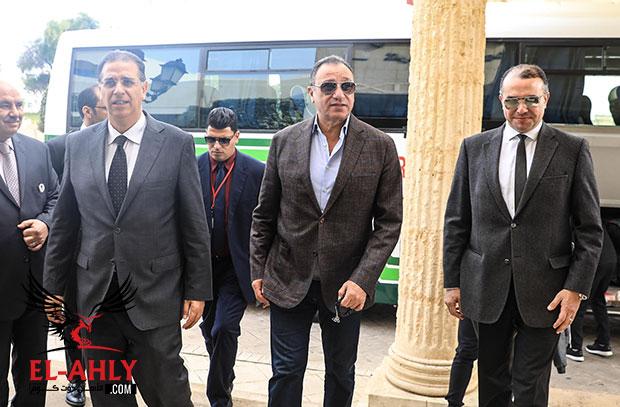 رسالة تونس .. وفد الترجي يستقبل الأهلي في المطار والفريق يصل فندق الإقامة