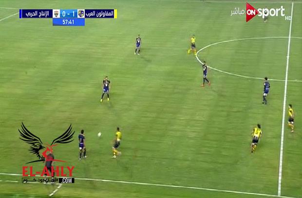عماد النحاس يحقق فوزه الأول مع المقاولون بعشرة لاعبين على حساب الإنتاج