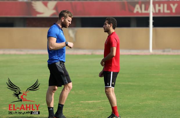 عبد الدايم يقود مران الغائبين وهشام محمد يواصل التأهيل وراحة سلبية لنجمي الفريق