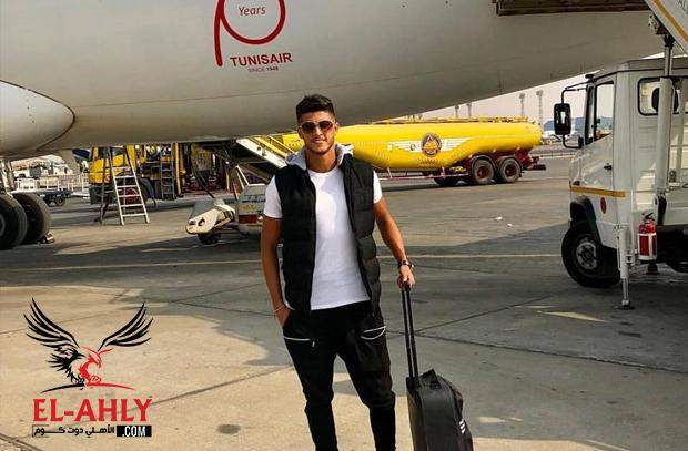 الشيخ يصل تونس لمؤازرة الأهلي قبل موقعة رادس