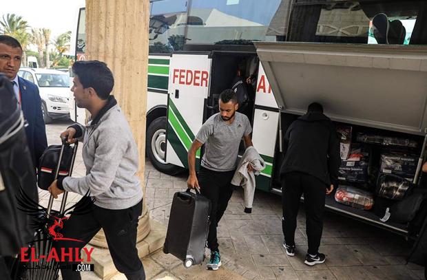 هشام حطب يشكر الأوليمبية التونسية على حفاوة استقبال الأهلى قبل النهائي