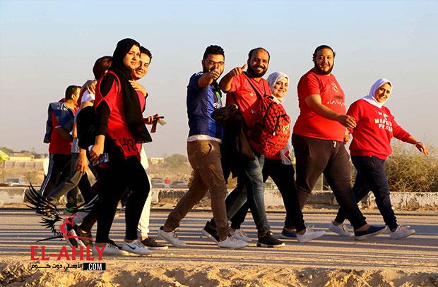 تحديد أماكن جماهير الأهلي في مواجهة الترجي التونسي