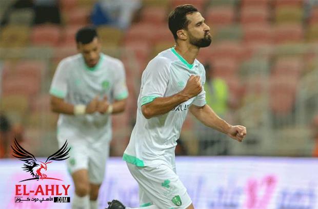 عبد الشافي والسعيد يشاركان في تعادل الأهلي مع الفيحاء بالدوري السعودي