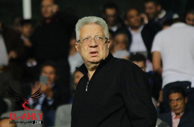 مرتضى منصور في أول ظهور تلفزيوني يسب المسئولين في الأهلي: انا لو وليد اولع فيهم