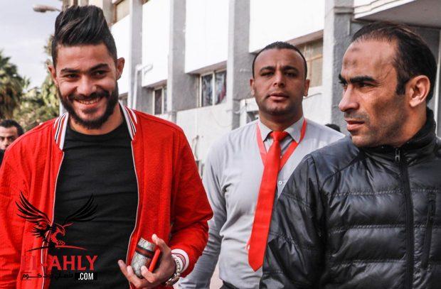الأهلي يقيد الشحات وياسر إبراهيم