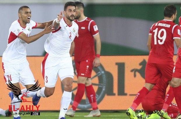 الأردن يقتنص بطاقة التأهل للدور الثاني في بطولة آسيا بعد الفوز على سوريا