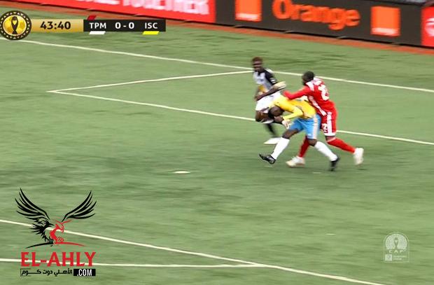 باهر المحمدي يهدر ركلة جزاء مثيرة للإسماعيلي أمام مازيمبي