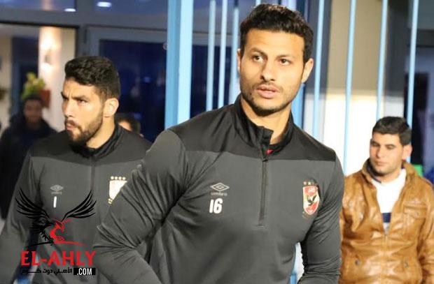 أول خطوات محمد الشناوي من التعافي بعد إصابته في مواجهة فيتا كلوب