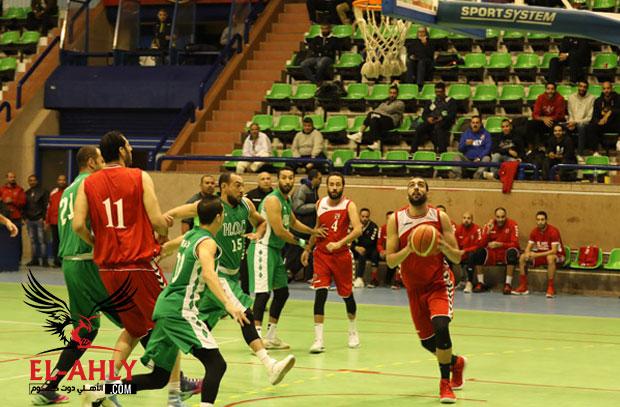 كرة السلة .. تعرف على مشوار الأهلي في بطولة الدوري بعد نهاية الدور الأول