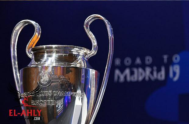 العب مع El-Ahly.com وتوقع مباريات ربع نهائي دوري أبطال أوروبا