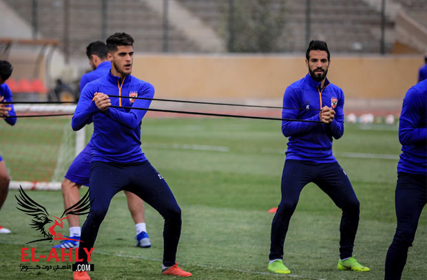 مران الغائبين عن مباراة صن داونز يشهد اعتذار 3 لاعبين
