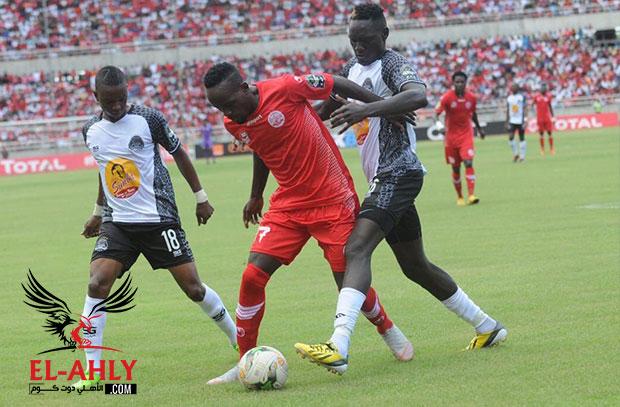 مازيمبي يقسو على سيمبا برباعية ويتأهل لنصف نهائي دوري ابطال افريقيا