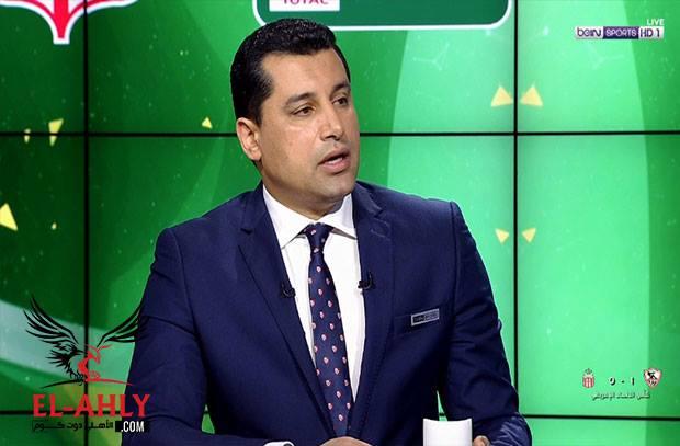 هيثم فاروق: لو كانت الكرة دي للزمالك هقول جون والمشكلة في المخرج!