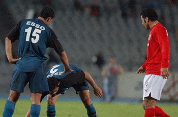 اتحاد الكرة يقرر تأجيل موعد مباراة الأهلي وانبي لمدة ساعة