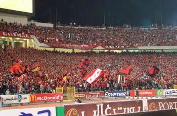 """جماهير الأهلى تحتل ملعب البترول بالكامل رغم""""الإستغلال والحرارة""""وهتافات لتريكة"""