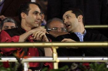 """علاء مبارك : حضرت الى الاستاد لأن ابنى """"أهلاوي"""""""