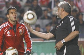 """يوسف: لاعب زيسكو """"بيمثل"""" والحكم لم يلغي المباراة .. ناجي: أهنيء لاعبينا"""